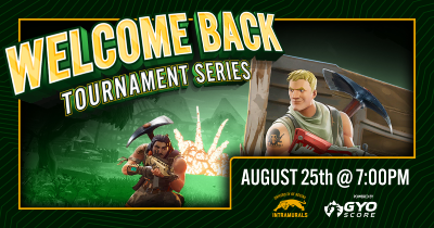Welcome Back! Fortnite Tournament Rerminder Feature Image