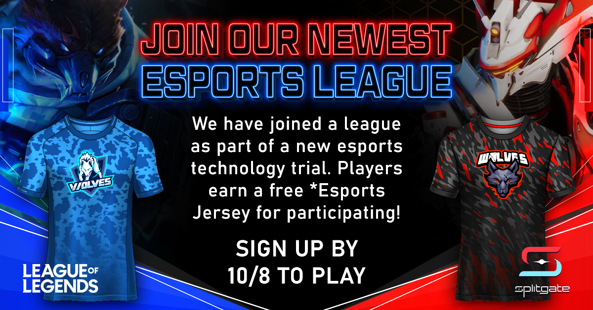 Play in a League, Get an Esports Jersey Feature Image